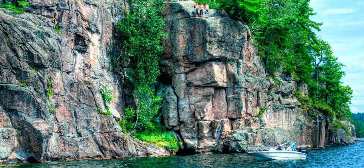 Canadian Shield Muskoka image Muskoka Rock
