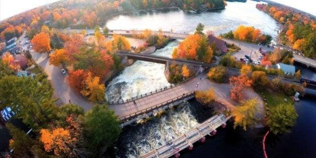 Bala, Ontario Image of Bala Falls