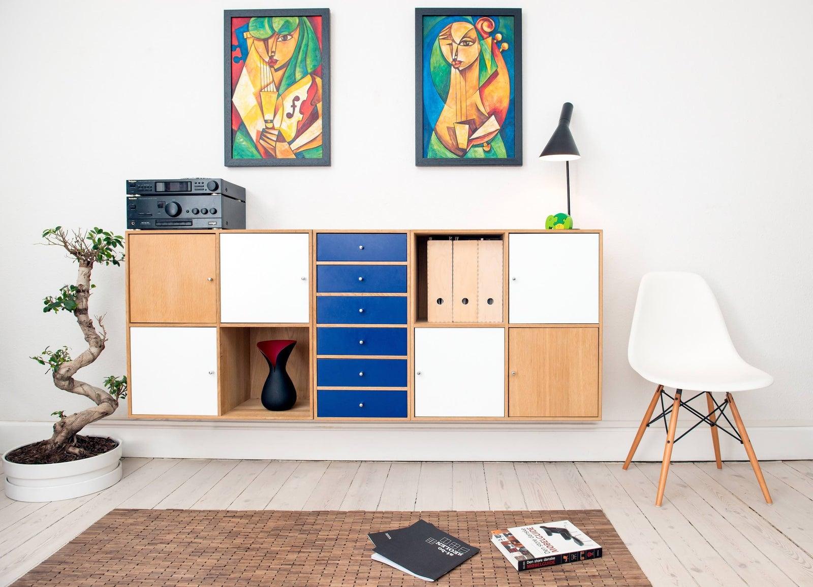 stilhavn multi function furniture stacked shelving