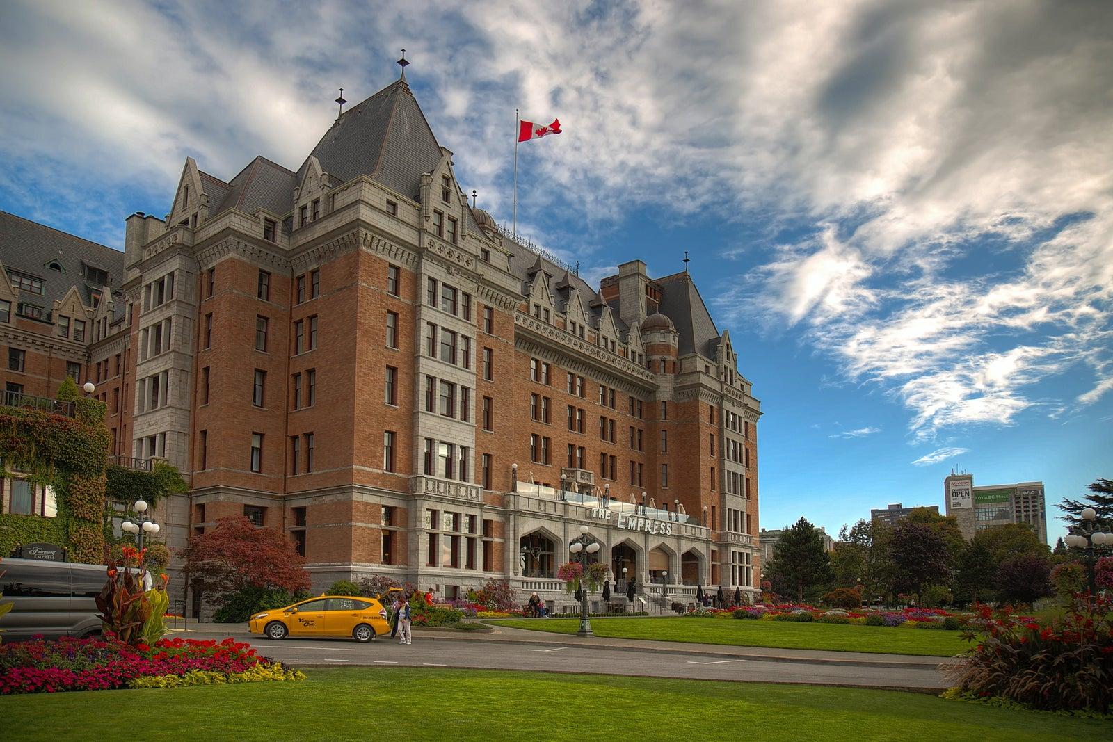 Victoria BC Empress Hotel