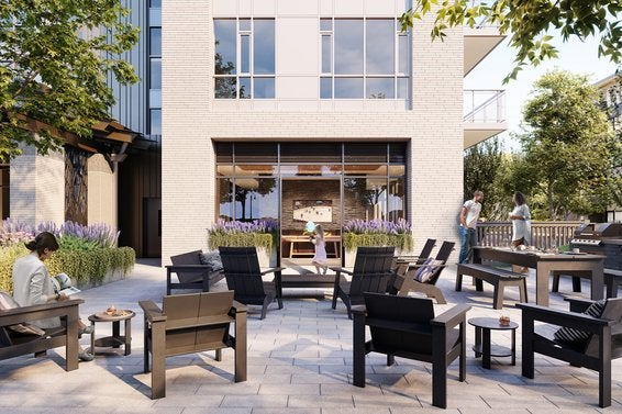 Parkside at Lynn | Patio Area