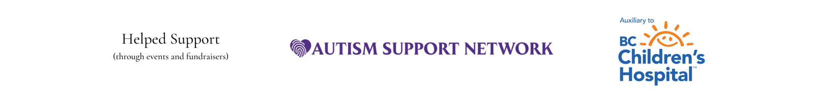 Worked alongside Autism Support Network and BC Children's Hospital