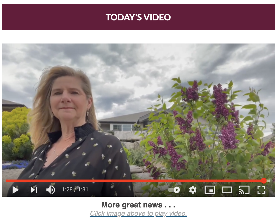 Angie May 2021 Video